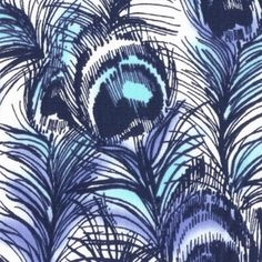 Dear Stella House Designer - Lanikai - Peacock in Blue- LOVE THIS FABRIC!!!