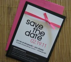 Sweet Magnolia Design: A Modern Take on a Save-the-Date