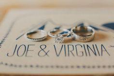 Simple rings. Photo by Gideon Photography Virginia, Wedding Ring Pictures, Beautiful Wedding Rings, Lodge Wedding, Destination Wedding Planner, Utah Wedding Photographers, Handmade Wedding, Summer Wedding, Engagement Photos