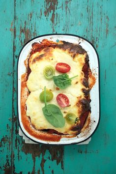 roast pumpkin + spinach_Lasagne (plus changes like cannellini bean puree instead of ricotta)