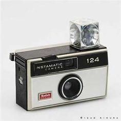 Anyone remember these? My first camera: Kodak instamatic