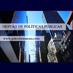 GESTÃO DE POLÍTICAS PÚBLICAS – Levantamento de informações, planejamento e prestação de serviço à sociedade.        Atuação: Consultoria, planejamento, articulação, projetos sociais