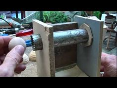 Wooden Ball and Socket - YouTube