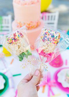 Sprinkle Themed Birthday Party