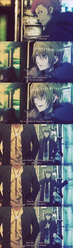 It was such a fantastic idea that even though Mikoto and Tatara were gone, the second season still kept their influence in the forefront.