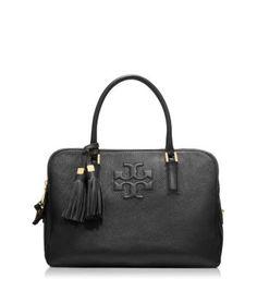 5d083c62597c Tory Burch. Black Leather SatchelTory Burch BagBlack ...