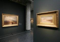 """Ausstellungsansicht """"Neue Welt. Die Erfindung der amerikanischen Malerei"""""""