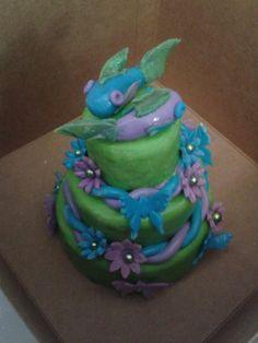 Mini koi cake