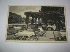AK Königsberg Ostpreußen Stadthalle Gartenpartie mit Pergola