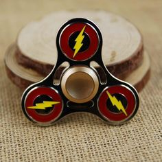 The Flash Fidget Spinner DC Comics Hand Spinner Finger Toy Stress Spinner #1hrdeals