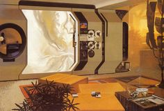 1971   Home Entertainment Center   Design by Syd Mead   Source