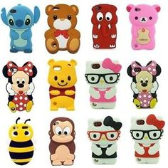 Animals-Cute-3D-Cartoon-Silicon-Soft-Cover-Case-For-iPod-Touch-5-5G-5TH-GEN