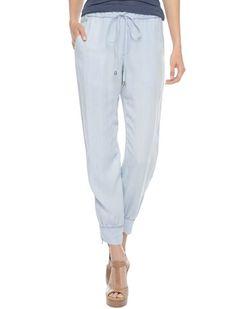 Indigo Dye Athletic Woven Pant