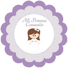 Etiquetas para imprimir comunión - Imagui                              … Transportation Birthday, Purple Themes, Art Projects, Projects To Try, First Holy Communion, Kids Church, Holidays And Events, Ideas Para Fiestas, Birthday Invitations