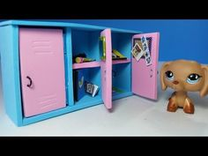 DIY Doll Lockers for LPS or MLP - YouTube