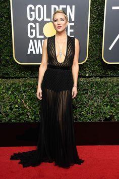Kate Hudson in Valentine - Golden Globes 2018