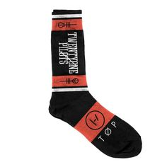 Logo Socks Oh yes cuz I already have all their other merchandise what else could be more amazing Hmm I know SOCKS!