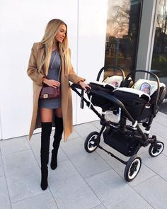 Baby Twins Fashion Ideas New Ideas Mama Baby, Mom And Baby, Baby Boy, Baby Kids, Twin Baby Rooms, Twin Babies, Cute Baby Twins, Twin Strollers, Double Strollers