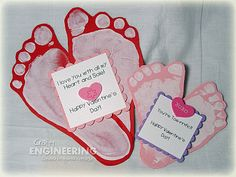 .A Toe-rrific Valentine! (for baby R to give her parents)