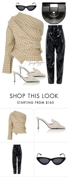 """""""Untitled #365"""" by jemappellegorjess on Polyvore featuring A.W.A.K.E., Altuzarra, TIBI, Le Specs and Cult Gaia"""