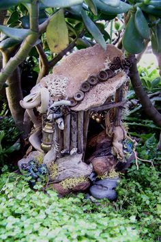Faery house a closer look by ~sevenwillow on deviantART