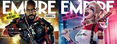 Découvrez les couvertures d'Empire pour #SuicideSquad avec Deadshot et Harley Quinn