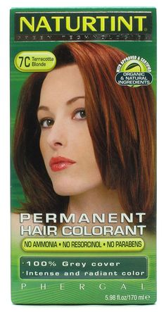 NATURTINT HAIR COLOR,7C,TERACOTA BL, 5.28 FZ * You can get more details by clicking on the image.