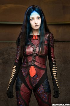 Illyria (from the Angel TV series), cosplayer is Astr0Babe