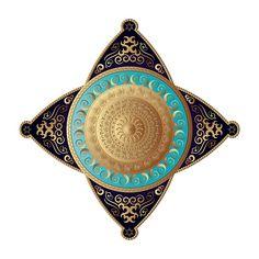 Circumplexical No 3649 by Alan Bennington Art Prints For Sale, Mandala Design, Digital Art, Ceiling, 3d, Wall Art, Artwork, Mandalas, Ceilings
