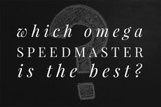 In this new series, we take on various watch-related questions, which have been googled by a large number of people. This article answers the question which Omega Speedmaster is the best.