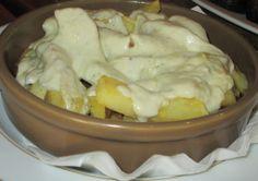 Patatas al #Cabrales  #CocinaAsturiana
