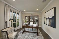 Cross Creek Ranch Model Home Open Daily - 4,098 Sq. Ft. - Library - #PerryHomes #trustedbuilder #homebuying #homebuilding #CrossCreekRanch #FulshearTX #KatyISD #KatyHomes #KatyTX #HoustonHomes #openconcept #openfloorplan #familyhome #realestate #RelocatingtoHouston #lakesidecommunity #lakesideliving #landscaping #brickexterior #stoneexterior #library #homeoffice #hardwoodflooring