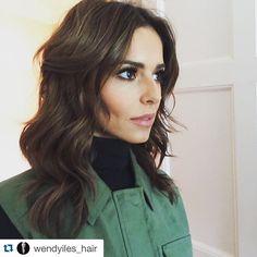 #Repost @wendyiles_hair  ・・・  #CherylFernandezVersini  new layered haircut. Beautiful makeup by @francescaneill, beautiful styling @annahcstyle hair by me #wendyiles #wendyiles_hair