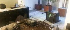 Noticias ao Minuto - Advogado tem dedos decepados após receber correspondência explosiva  Vítima foi encaminhada para o Hospital de Urgências de Goiânia