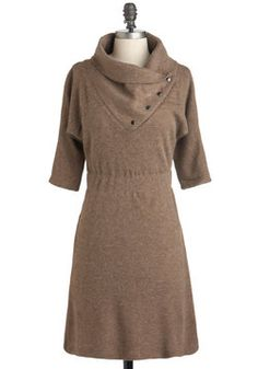 Academy Days Dress in Fawn - I think this is a great Fall work/office dress
