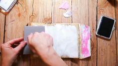 Journal Process with Fluid Acrylics Art Journal Process with Rubber Dance Stamps and Fluid Acrylics.Art Journal Process with Rubber Dance Stamps and Fluid Acrylics. Mixed Media Journal, Mixed Media Collage, Mixed Media Canvas, Collage Art, Collages, Art Journal Pages, Bullet Journal Art, Art Journals, Artist Journal