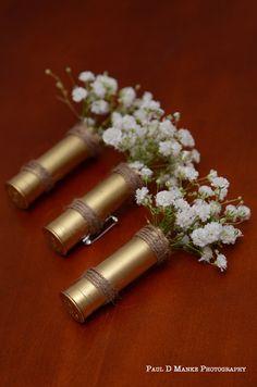 Best 50 Stunning Lavender Wedding Ideas For Fall Wedding Theme - boutonnieres Boutonnieres, Shotgun Shell Boutonniere, Bullet Boutonniere, Wedding Boutonniere, Feather Boutonniere, Plan Your Wedding, Dream Wedding, Wedding Day, Wedding Beauty