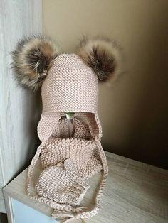 Pavlak / hnedy set Winter Hats