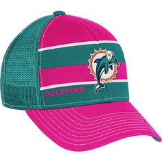 Reebok Miami Dolphins Women s Breast Cancer Awareness Trucker Hat All Nfl  Teams 7aa2ae86c2f
