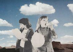 Les illustrations surréalistes de Joe Webb - Collage
