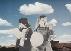 Les illustrations surréalistes de Joe Webb - Collage #biblioteques_UVEG