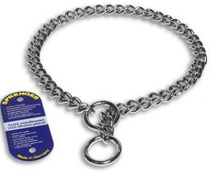 Coastal Pet Products DCPHS41030 Steel Herm Sprenger XHeavy Chain Dog Training ChokeCollar with 4mm Link 30Inch -- For more information, visit image link.(This is an Amazon affiliate link and I receive a commission for the sales)