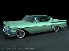 1958 Chevrolet Impala Sport Coupe Maintenance/restoration of old/vintage vehicles: the material for new cogs/casters/gears/pads could be cast polyamide which I (Cast polyamide) can produce. My contact: tatjana.alic@windowslive.com