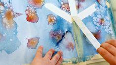 15 vinkkiä vesivärimaalaukseen! Näillä ohjeilla vesivärimaalauksesta tulee nautinnollista ja lastenkin luomista teoksista uskomattoman näyttäviä. Art For Kids, Crafts For Kids, Arts And Crafts, Diy Projects To Try, Art Projects, Little People, Art School, Art Education, Activities For Kids