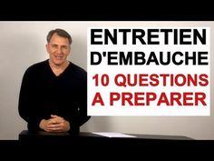 Vidéo facile pour pratiquer les questions: Les questions les plus fréquentes en entretien d'embauche