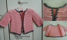 Ravelry: Abigail Infant Sweater pattern by Lorene Haythorn Eppolite- Cre8tion Crochet
