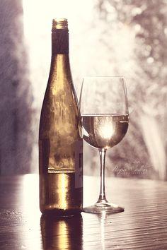 Wine glass wine bottle food photography bar decor by RupaSutton (Art, Photography, photograph, fine art photography, wine, wine glass, food photography, still life, bar art, kitchen art, wine bottle)