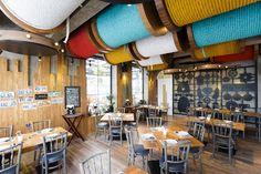 Медвежонок-тематический ресторан в Бангкоке дизайна