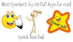 Speech Time Fun: Top 25 SLP Apps for 2012