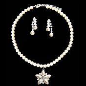 Fantasy Ivory Pearl Ladies' Jewelry Set Inclu... – USD $ 14.99